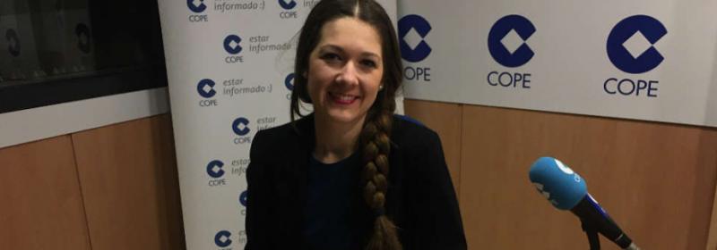 200217. Cristina Delgado Radio COPE